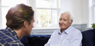 Talking to an elderly parent