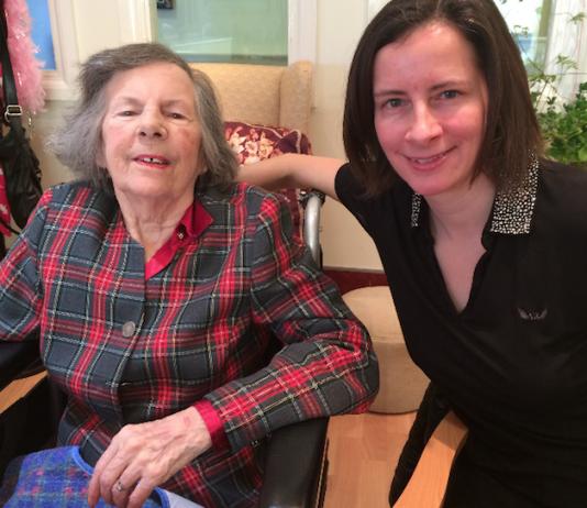 Christina Neal with mum Hazel
