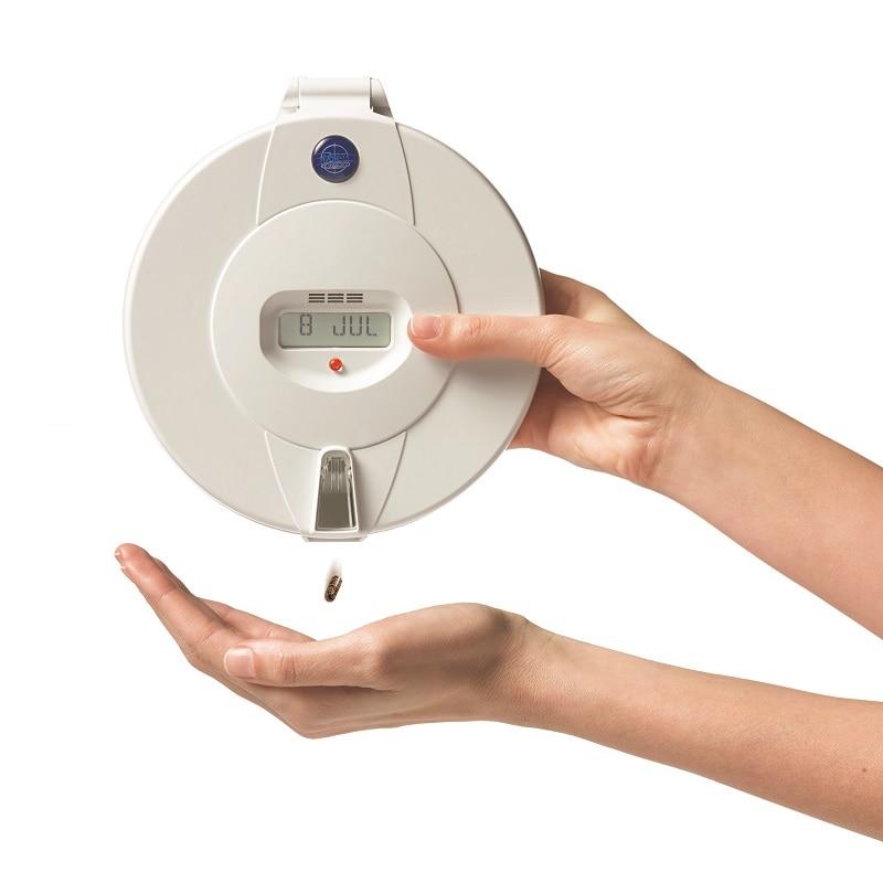 Using a pill dispenser