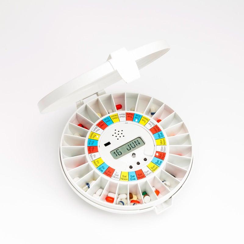 Pivotell pill dispenser