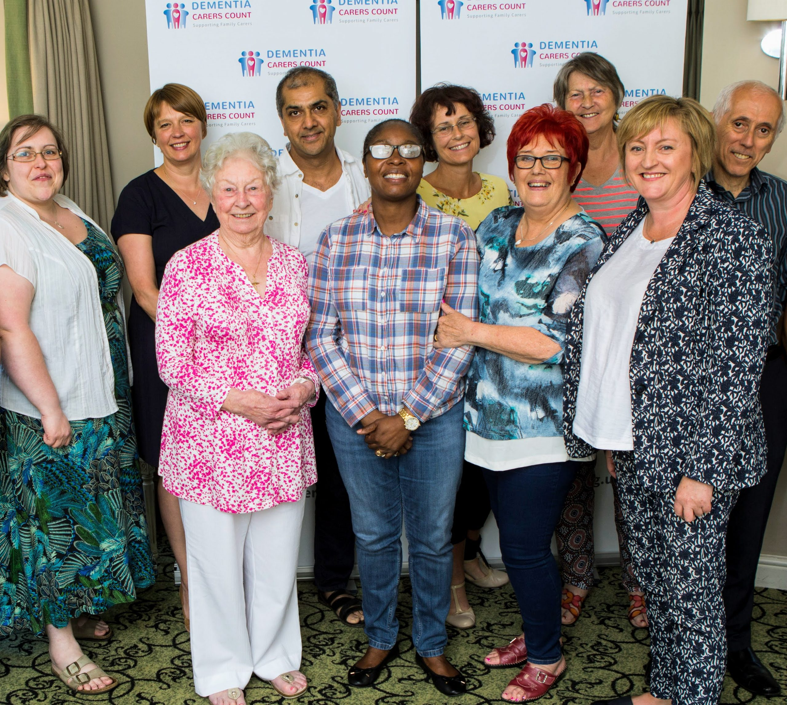The Dementia Carers Count staff and carers.